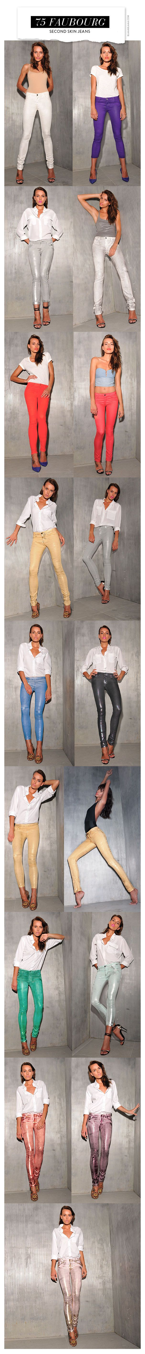 75 Faubourg Second Skin Jeans