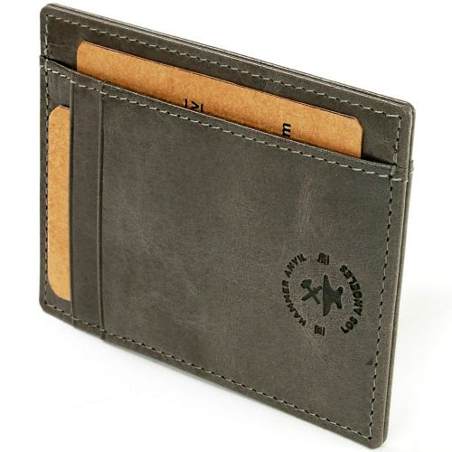 Hammer Anvil Minimalist Slim Card Case Wallet