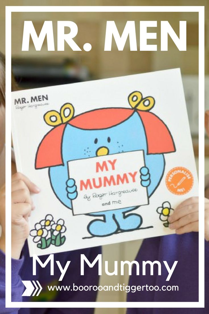 Mr. Men My Mummy | Boo Roo and Tigger Too  . The book makes for a great activity for the children to complete ahead of Mother's Day or mums birthday, whilst Mum gets a keepsake book that can be read time and time again.   #MrMenBooks #mothersday #MrMen