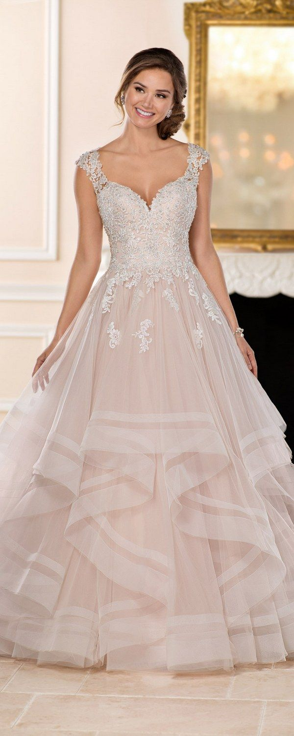 Stella York Wedding Dresses / http://www.deerpearlflowers.com/stella-york-wedding-dresses/ ❤️ #lacedress #weddingdress #bridaldress