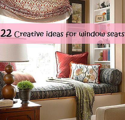 Kaila's Place| 22 Creative ideas for window seats