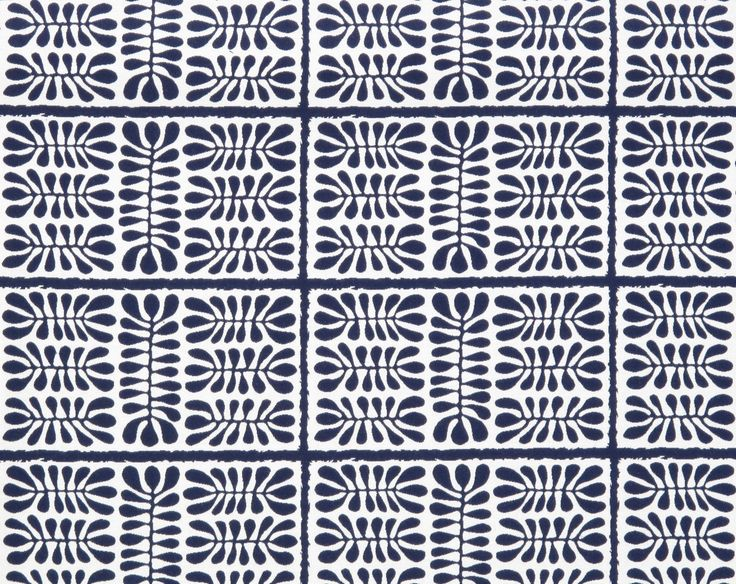 Dancing Matisse in Navy Blue from Old World Weavers/Stark #fabric #sunbrella #outdoor #blue