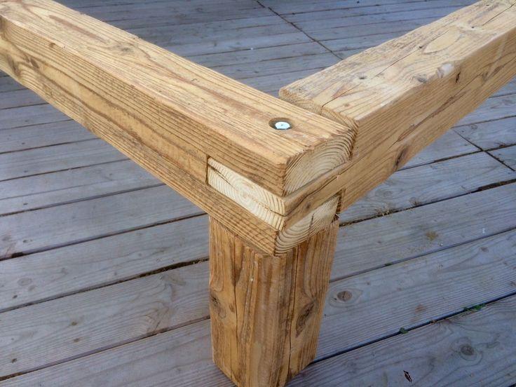 Balkenbett altholz  12 besten bett Bilder auf Pinterest | Produkte, Kaufen und Vorteile