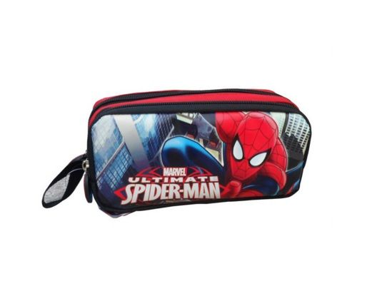 Impertex Fabric Pencil Case with Spiderman Printing