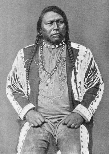Native American, Chief Ouray of the Ute Indian Tribe was ...