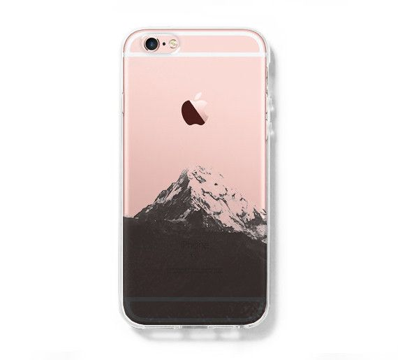 Snow Mountain iPhone 6S case iPhone 6 Clear Case iPhone 5s 5 Case iPhone 5C Cover Hard Transparent iPhone Case C0002