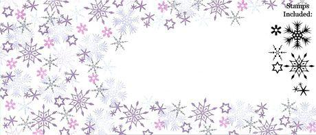 Winter Flurry - Majestix Peg Stamp Set