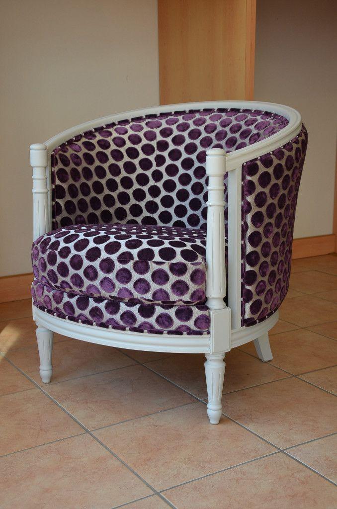 tissu casamance fauteuil art deco