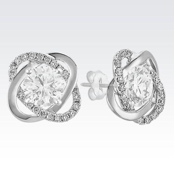 Best 25+ Diamond Solitaire Earrings Ideas On Pinterest | Diamond Stud Diamond Earrings Tiffany ...