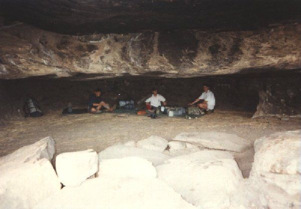 Leopard cave      near Cathedral Peak