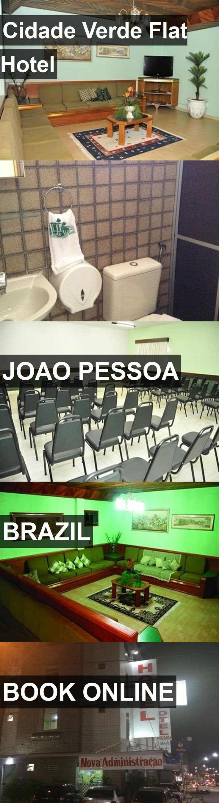 Hotel Cidade Verde Flat Hotel in Joao Pessoa, Brazil. For more information, photos, reviews and best prices please follow the link. #Brazil #JoaoPessoa #hotel #travel #vacation