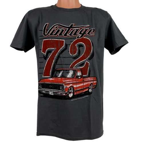 Chevy C10 Truck T Shirt - Vintage 72' C10 Truck