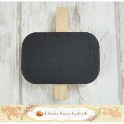 Tabliczka prosta kredowa na klamerce TBK01 / Chalkboard with clip