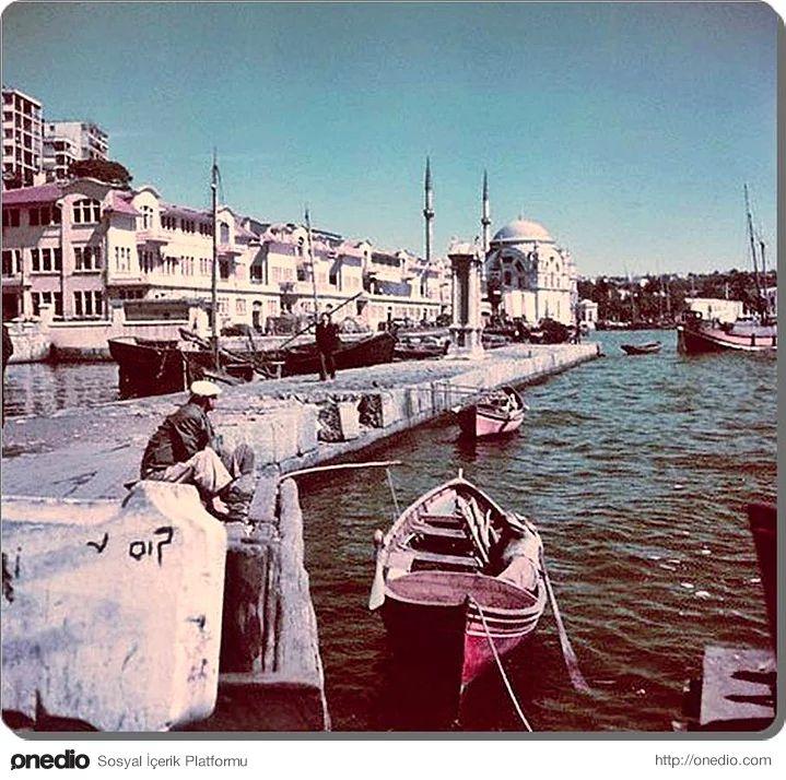 Kabataş sahili - 1960