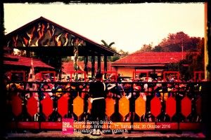 30 Oktober 2016 - 25,6 KM Rute: Start Mako Brimob Den B Pelopor Samarinda - Sultan Hasanudin - Bung Tomo - Cipto Mangunkusumo - APT Pranoto - Harun Nafsi - HM Rifadin - GOR Palaran - Simpang Pasir - Trikora - Sultan Hasanudin - Finish Mako Brimob Den B Pelopor Samarinda.