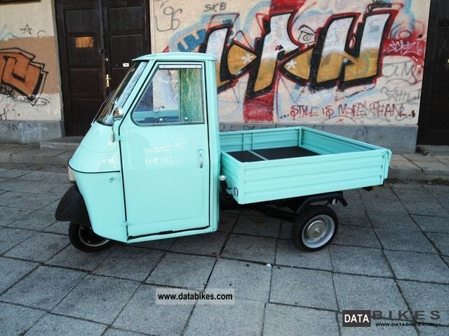 1977 Piaggio  Ape vintage P50 Motorcycle Motor-assisted Bicycle/Small Moped photo