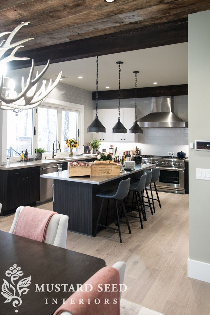 10 Simple Decorating Ideas From The Hgtv Dream Home: Modern Cabin Decor, Home Decor Kitchen, Home Decor