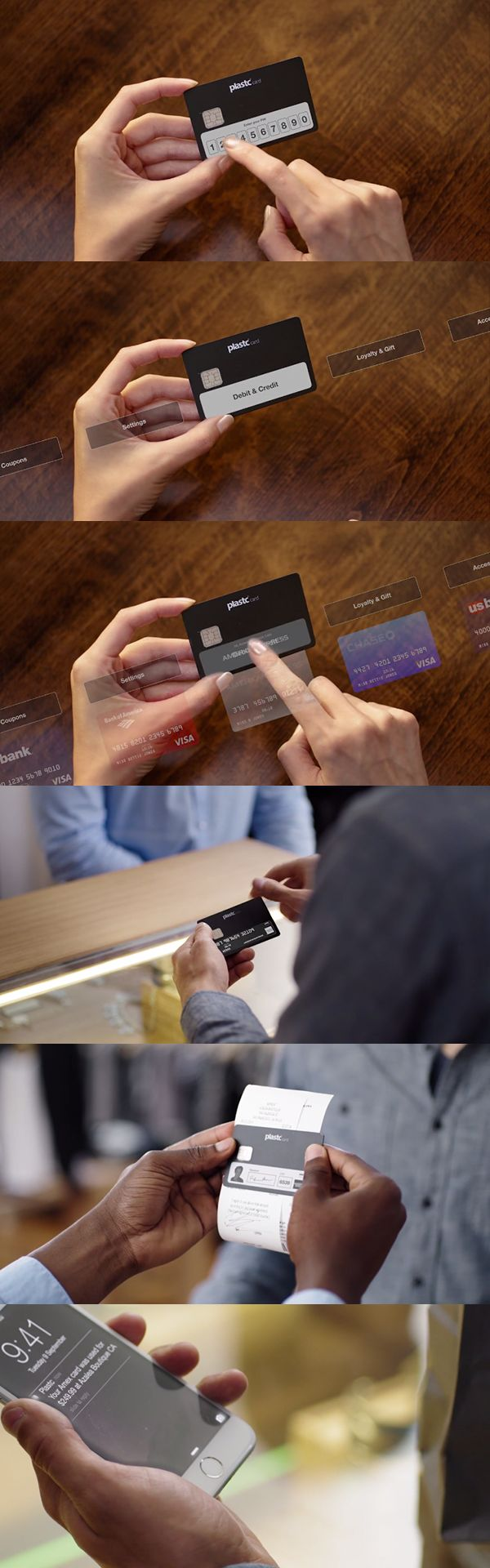Could Plastc replace your wallet? It can hold more than 20 cards and also has upgradeable firmware.