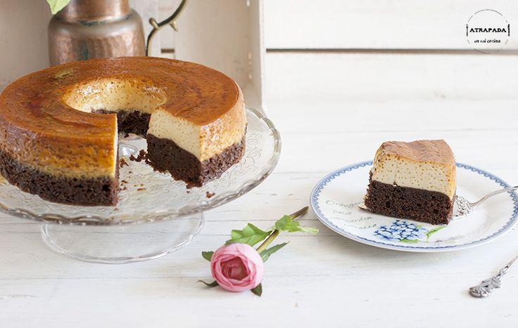 Chocoflán ( o pastel imposible)