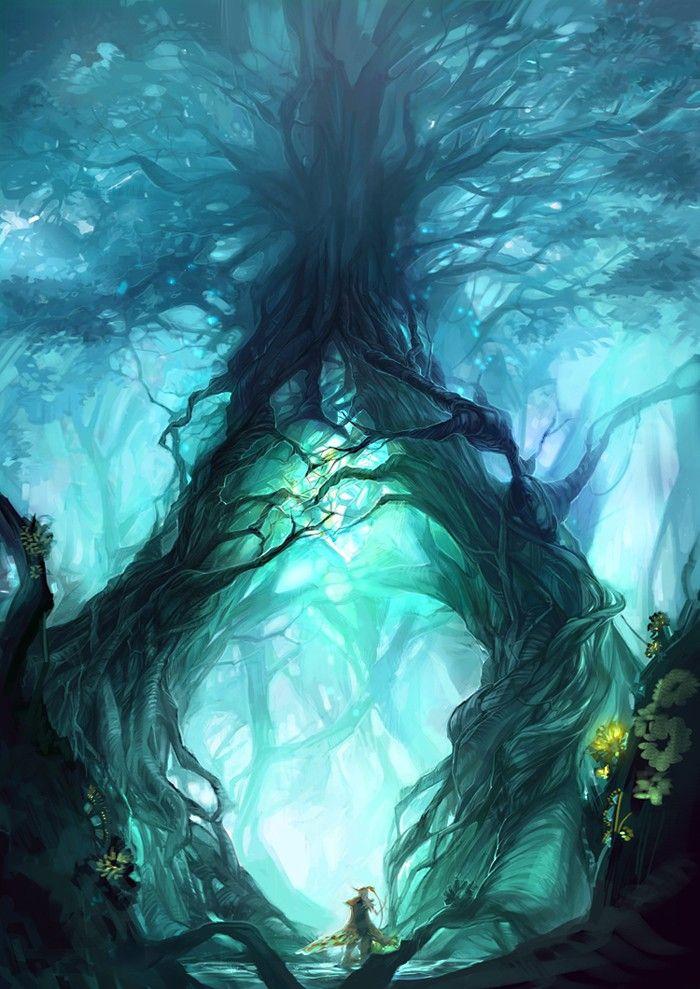 Life Tree by Yume-Rie  / https://yume-rie.deviantart.com/art/Life-Tree-266137228