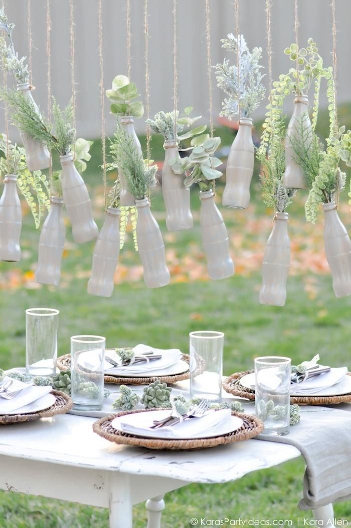 Fresh Modern Thanksgiving Tablescape with Coca Cola