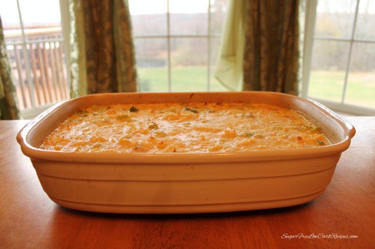 Easy Broccoli Chicken Tetrazzini | Sugar Free Low Carb