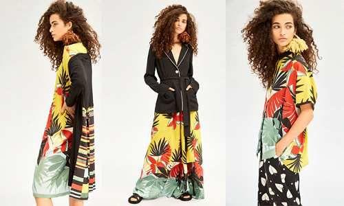 Moda: #Palme e #fiori esotici per Beatrice B (link: http://ift.tt/2op5rtG )