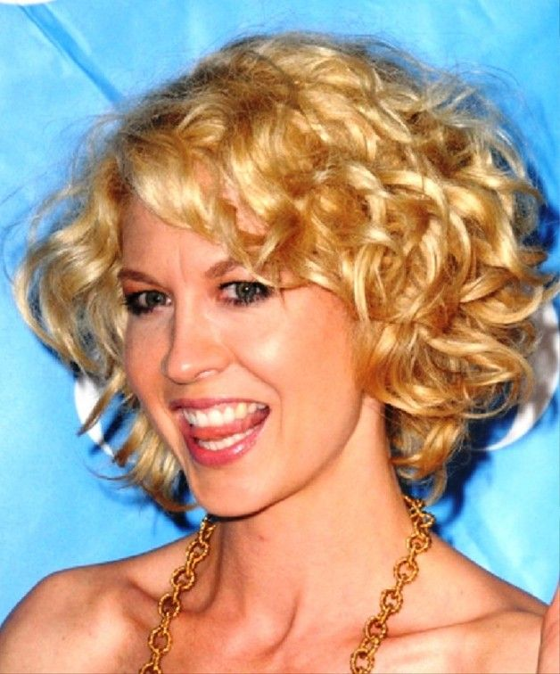 Short Blonde Curly Hairstyles pictures, update your look with Short Hairstyles at Behairstyles.com