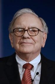 Warren Buffett - one of my heroes...and now he is my boss's boss's, boss's boss!