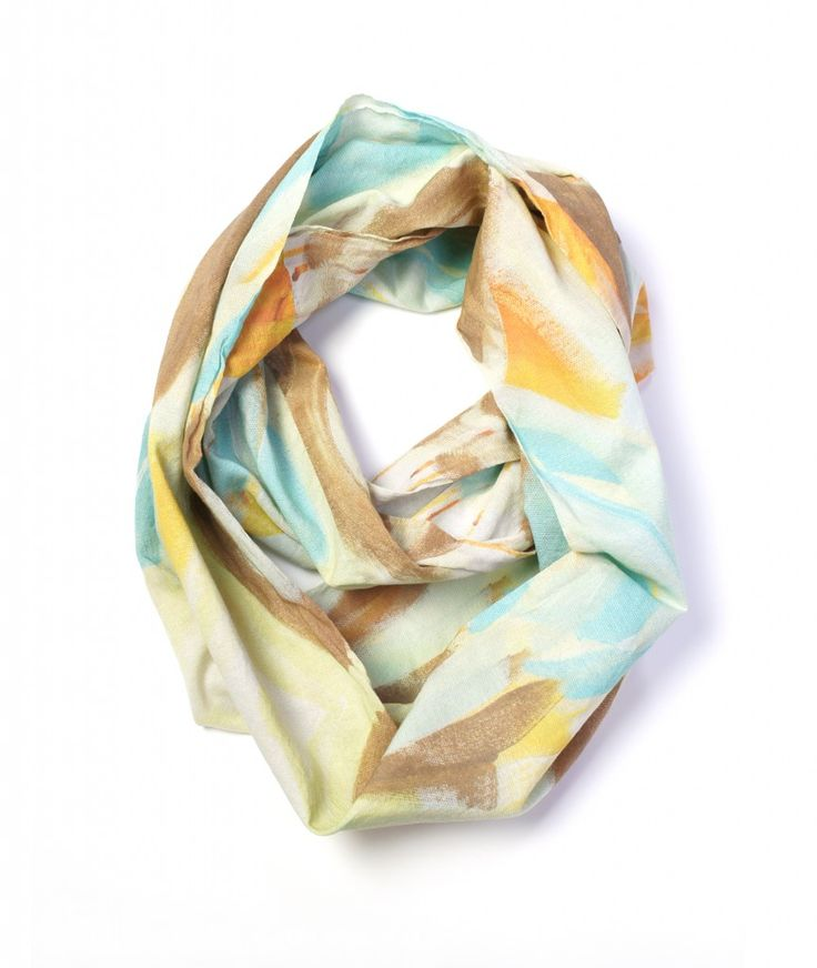 what to wear to a craft beer tasting featuring the golden lightweight scarf by megan auman - click to view the full outfit