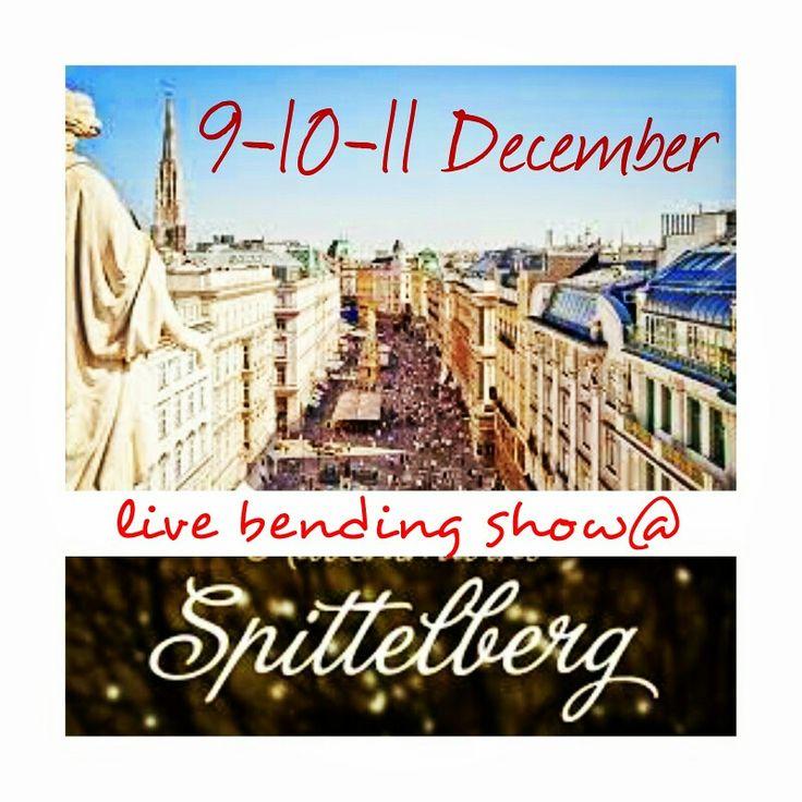 Live Bending Show @ Spittelberg Vienna  web.artbending.ro contact: artbending@gmail.com