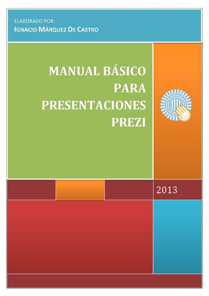 MANUAL PREZI ESPAÑOL 2013