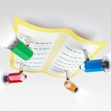 Inspirational JagoBleistift Deckenlampe f r Kinderzimmer KDLP