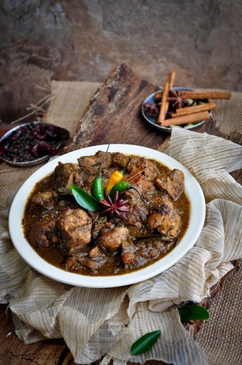 Hot & Spicy Indian Chettinad Chicken Curry