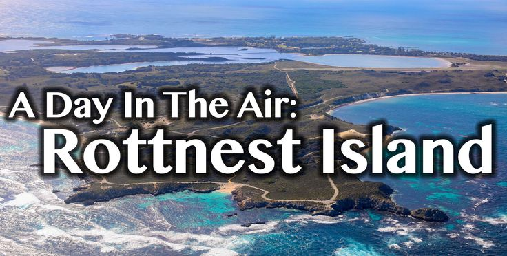 A video of my trip to Rottnest Island...from the air.