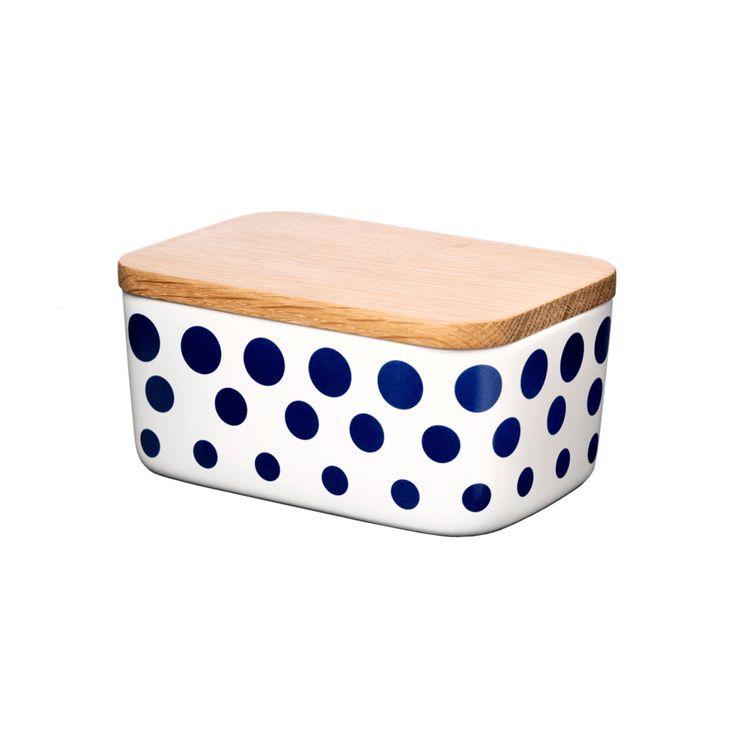 Butter Box, Revy, dark blue; Helbak