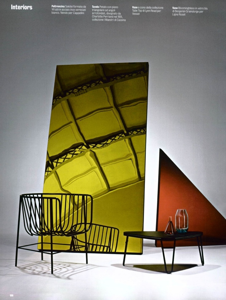 CAPPELLINI - Sekitei small armchair by Nendo
