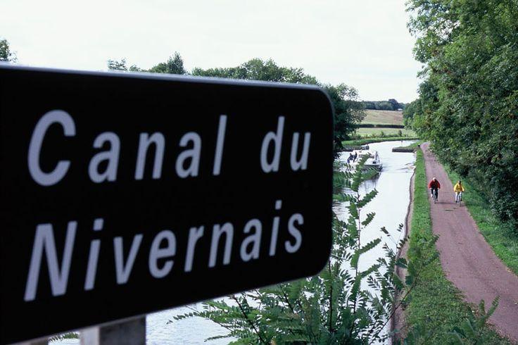 Tour de la Bourgogne à Vélo - Canal du Nivernais © Alain Doire