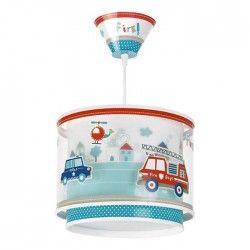 Lámpara de Techo Infantil Serie Police 60612 Bomberos Policia Redonda te Techo Regulable en altura 60612 | LeonLeds
