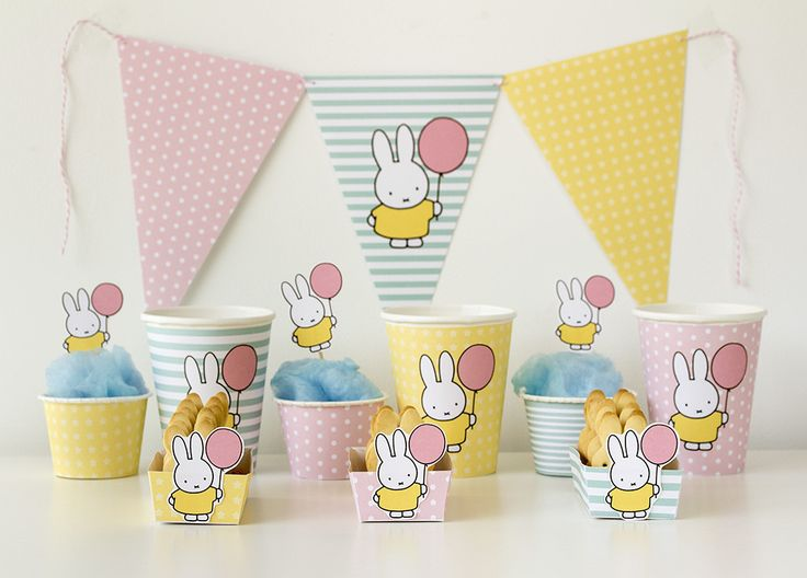 Free Miffy/Nijntje Printables by Bake and craft