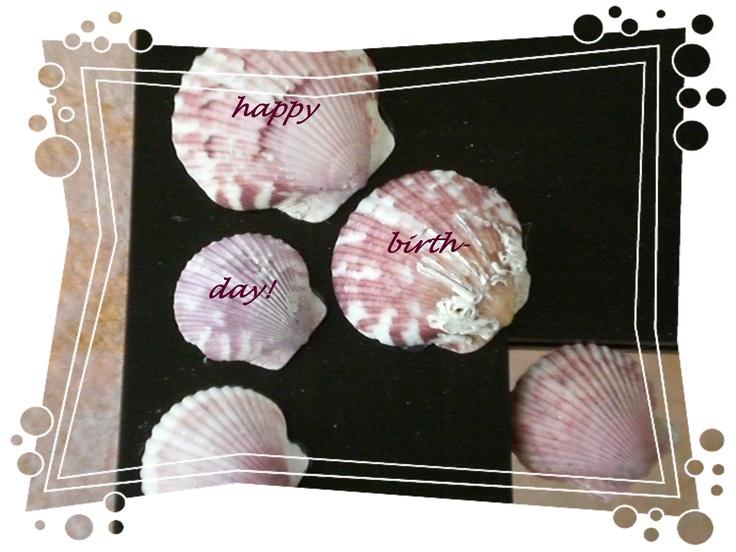 Happy Birthday with Atlantic Calico Scallops
