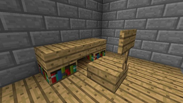 Minecraft Furniture - Desks