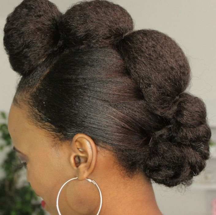 natural hair protective styling for black women tutorial styles with headband fo…