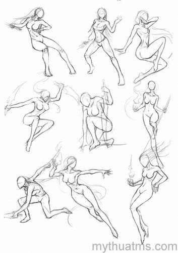 How to get better at drawing poses