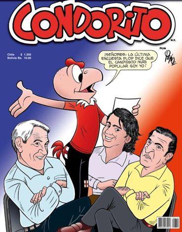 ¿Quién será el mejor candidato? #Condorito #Historieta #Chiste