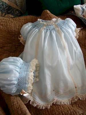 heirloom sewing for babies