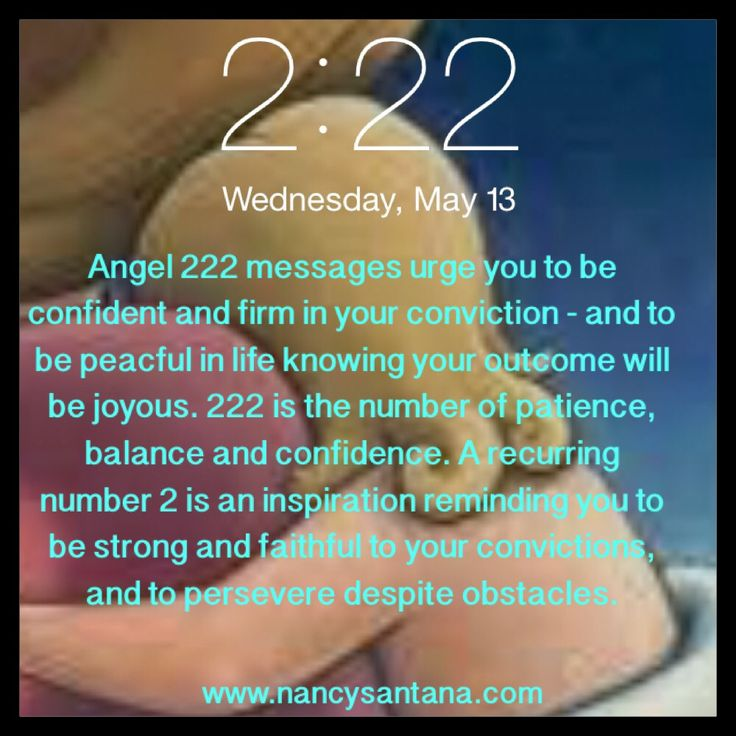 222  Numerology  Angel Message Angel Number