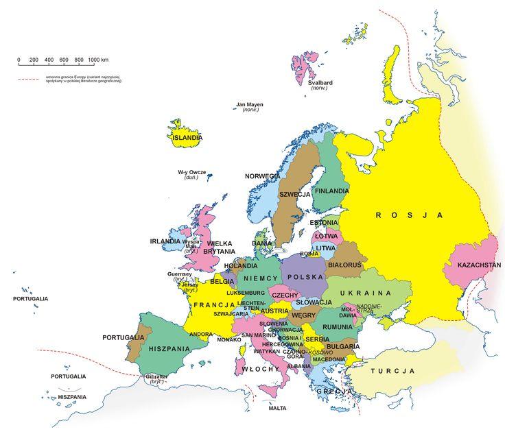 europa mapa - Szukaj w Google