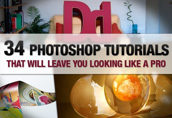 photo shop tutorials:http://www.onextrapixel.com/2010/08/23/34-photoshop-tutorials-that-will-leave-you-looking-like-a-pro/?utm_source=feedburner&utm_medium=feed&utm_campaign=Feed%3A+onextrapixel+%28Onextrapixel%29