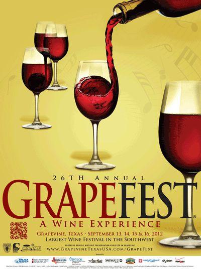 26th Annual GrapeFest 2012! @VisitGrapevine